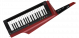 Korg RK-100s 2 Keytar in Transulcent Red