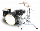 Legend One Black ash 5 piece birch drum kit