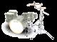 Legend One Cobalt 5 Piece Birch Drum Kit