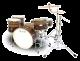 Legend One Twin 5 piece Birch Drum Kit