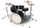 Legend Senior Black Ash 6 piece Birch Drum Kit