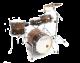 Legend Travel twin 4 piece birch drum kit